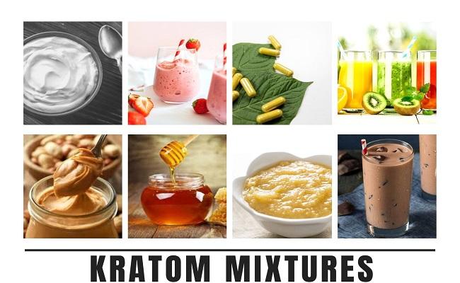Kratom Mixtures
