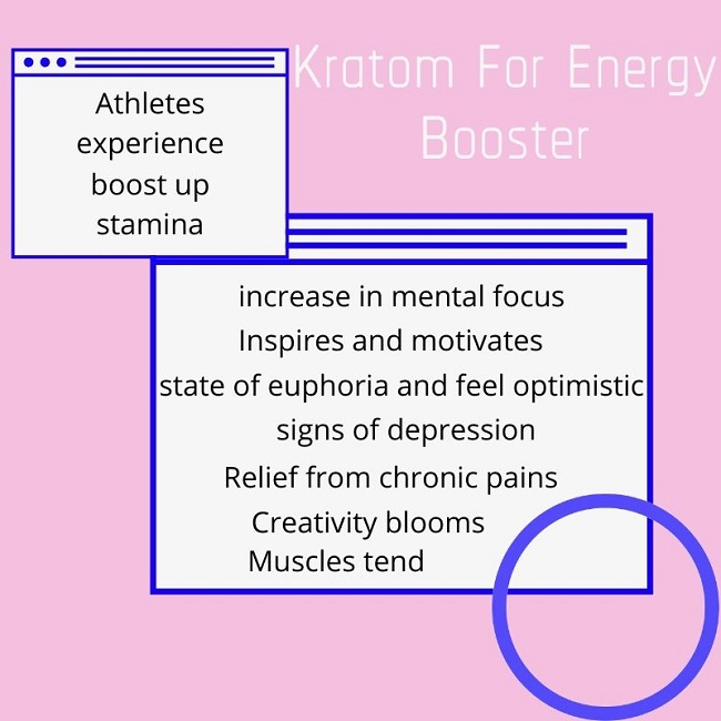 Kratom For Energy Booster