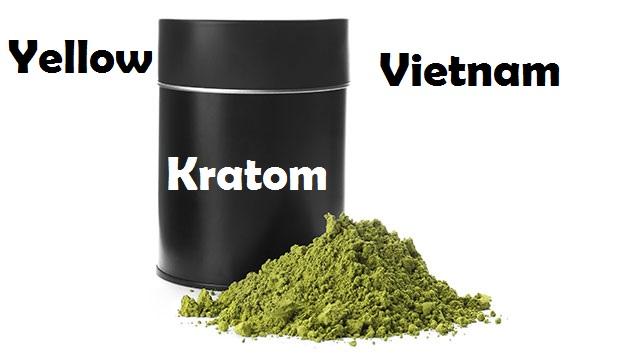 Yellow Vietnam Kratom