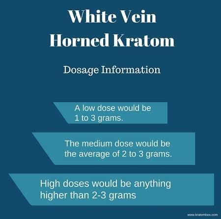White Vein Horned Kratom effects
