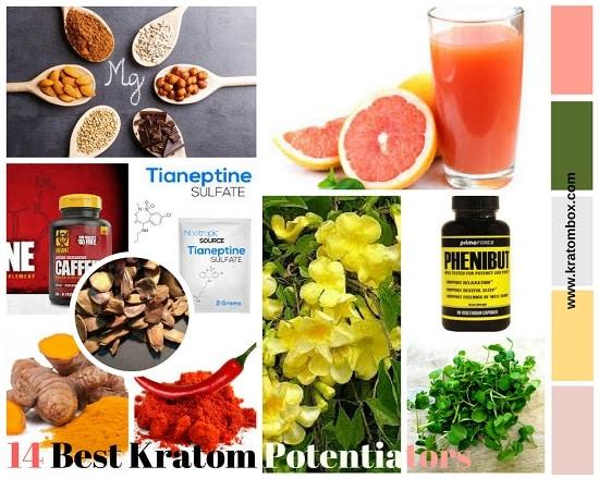 Best 14 Kratom Potentiators