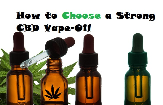 Choose CBD Vape-Oil