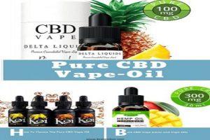 Pure CBD Vape Oil