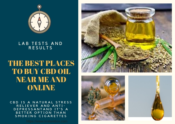 The Best Places To Buy CBD Oil Near Me And Online