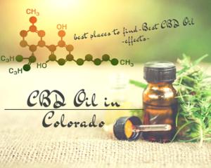 Buy CBD Oil In Colorado
