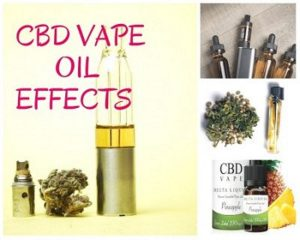 CBD OIL vape Effects