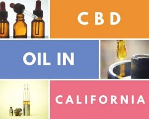 CBD Oil In California