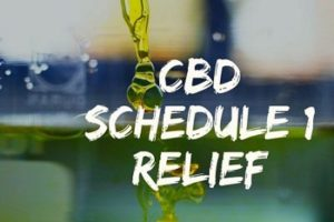 CBD SCHEDULE 1 RELIEF