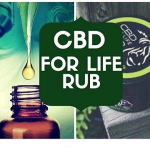 CBD For Life Rub