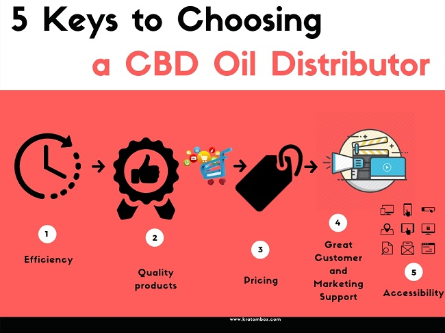 5 Keys to choosing a CBD Oil Distributor