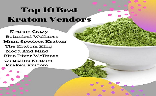 Top 10 Best Kratom Vendors