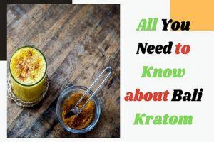 Bali-Kratom