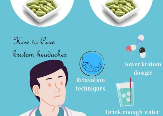 Cure kratom headaches